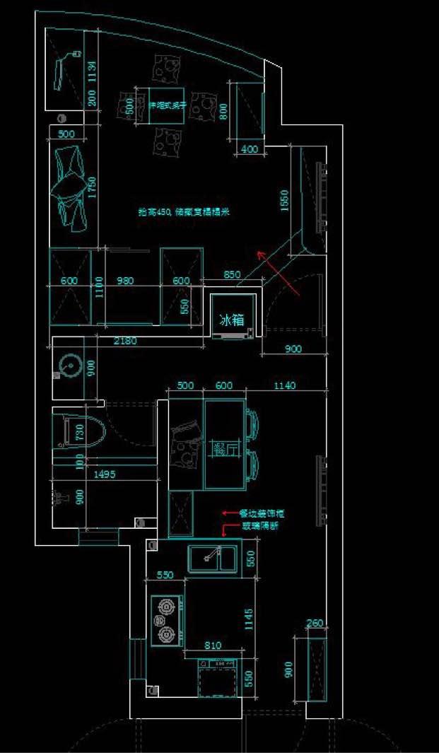 1室1厅1厨1卫